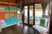4 bed dorm in surf camp