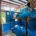 8 bed dorm at surf camp in sanur