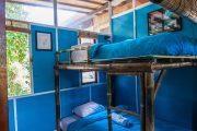 8 bed dorm at surf camp in sanur