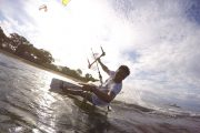 kite surfing in sanur