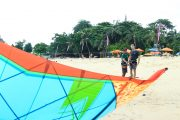 kite surfing in bali