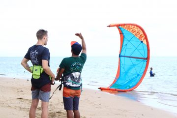 kite lesson sanur