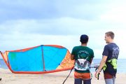 kite surf lesson sanur
